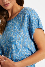 Soaked in Luxury Lavada Dress Lichen Blue Splash Print