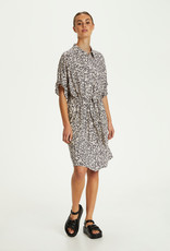 Soaked in Luxury Saphira Dress Buttercup Print Parisian Night