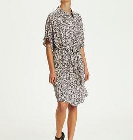 Soaked in Luxury Saphira Dress Buttercup Print Parisian Night