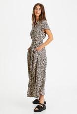 Soaked in Luxury Arjana Maxi Dress Buttercup Print Parisian Night