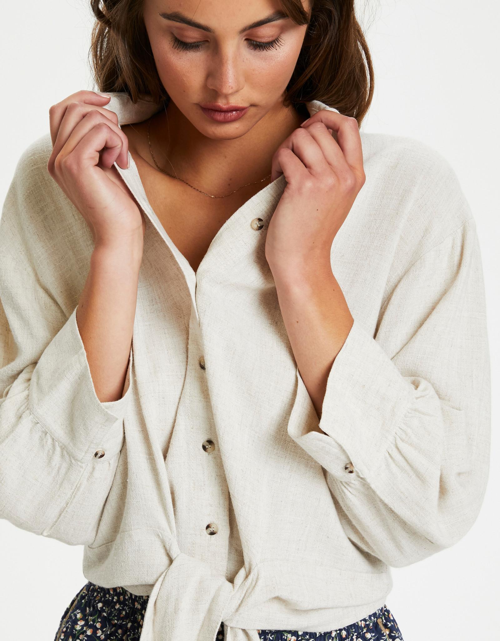 Soaked in Luxury Amidala Lelu Blouse Antique White