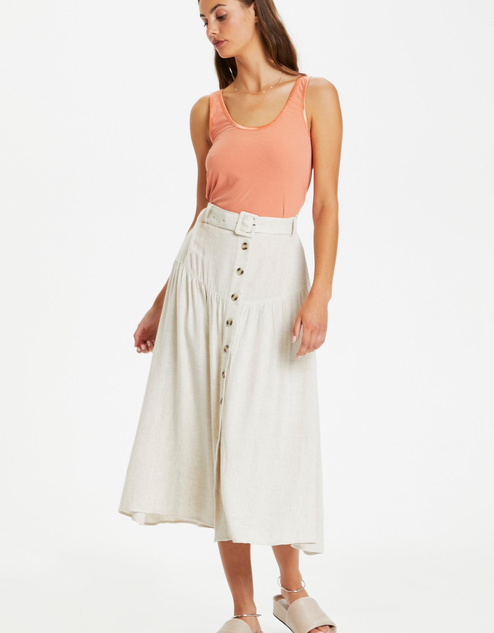 Soaked in Luxury Amidala Skirt Antique White