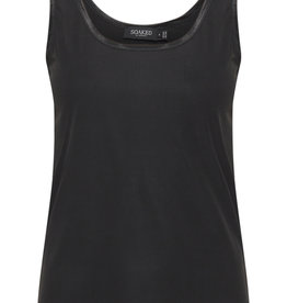 Soaked in Luxury Conny Rib Top Black