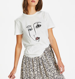 Soaked in Luxury Lash T-Shirt Broken White