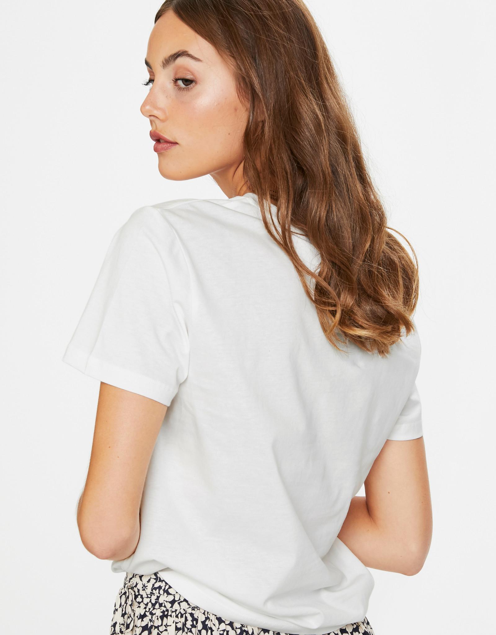 Soaked in Luxury Lash T-Shirt Broken White