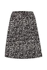 InWear Helaine Skirt Black Textured Wall