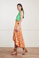 Fabienne Chapot Bobo Frill Cato Skirt Loopy Leopard