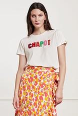 Fabienne Chapot Terry T-Shirt Cream White