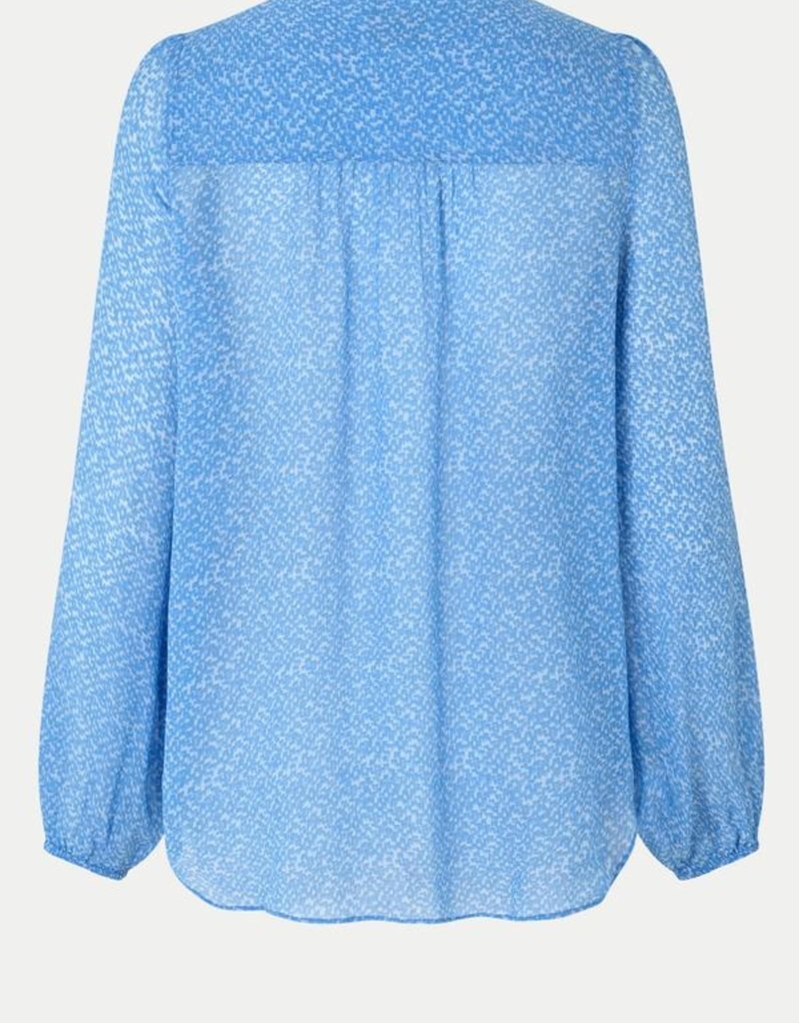 Second Female Mano Shirt Blue Bonnet