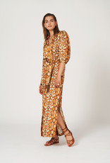 Dante 6 Badyn Snake Print Long Dress Multi