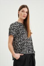 InWear Helaine Top Black Texture
