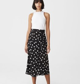 Gestuz Fjola Skirt Black w Grey Dot