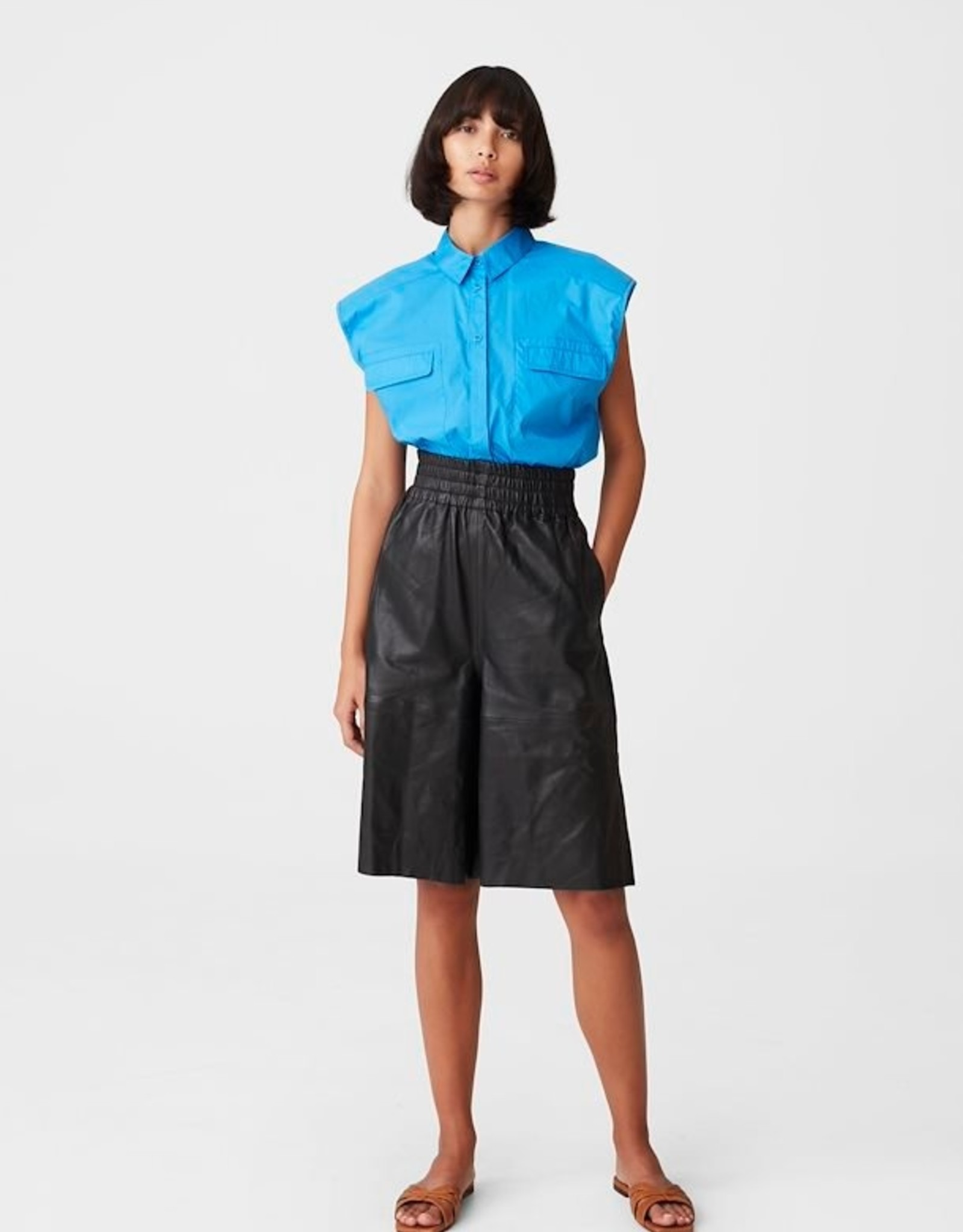 Gestuz Dimma SL Shirt French Blue
