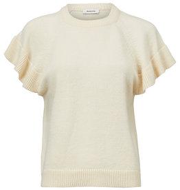 Modstrom Jaime Vest Knit Sweater Cream Milk