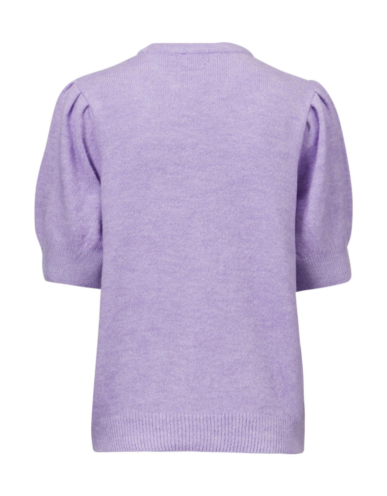 Modstrom Juliane O-Neck Knit Sweater Lavender