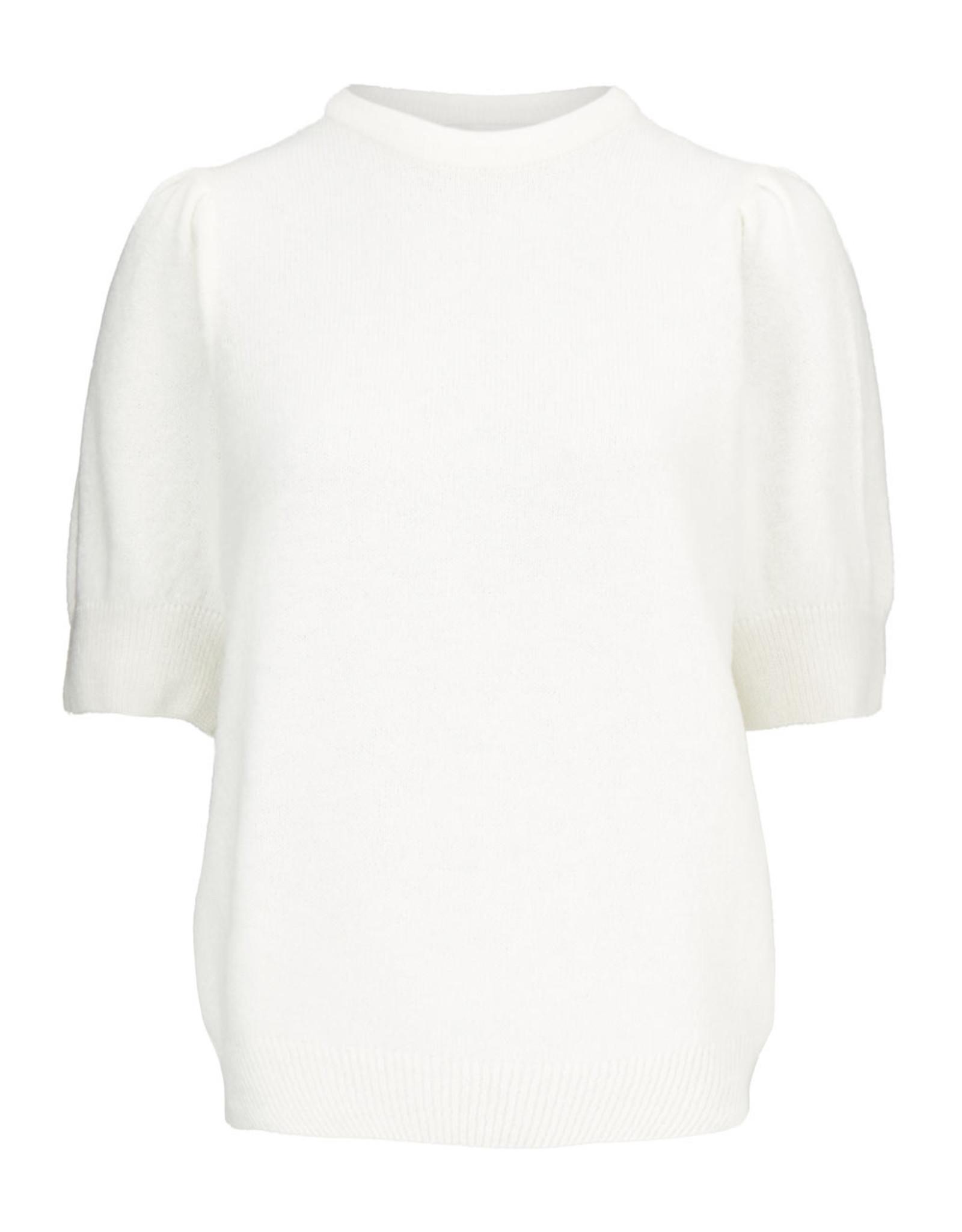 Modstrom Juliane O-Neck Knit Sweater Off White