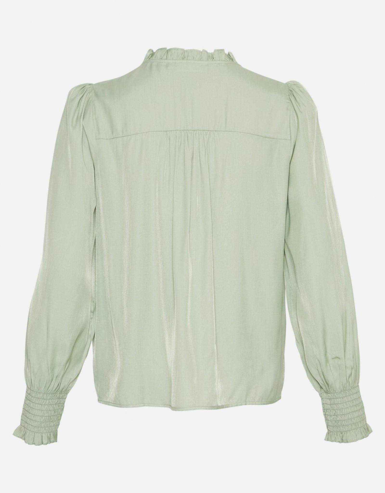 Moss Copenhagen Elysse LS Shirt Reseda
