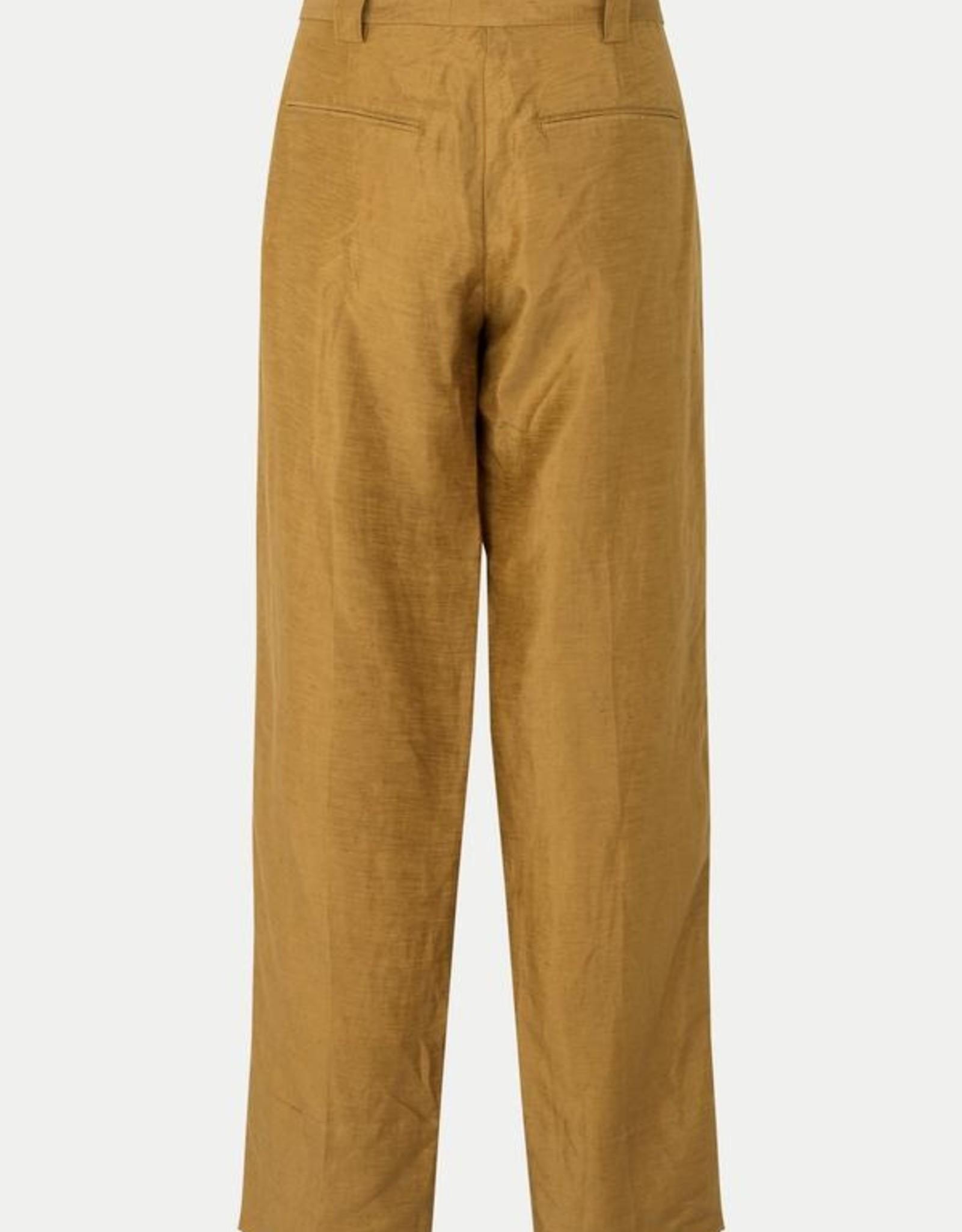 Second Female Lia Classic Trousers Bronze Brown