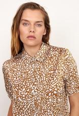 Second Female Granada Shirt Bronze Brown