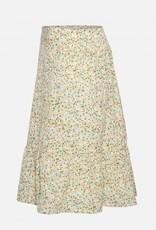 Moss Copenhagen Evette Short Skirt Ecru Flower