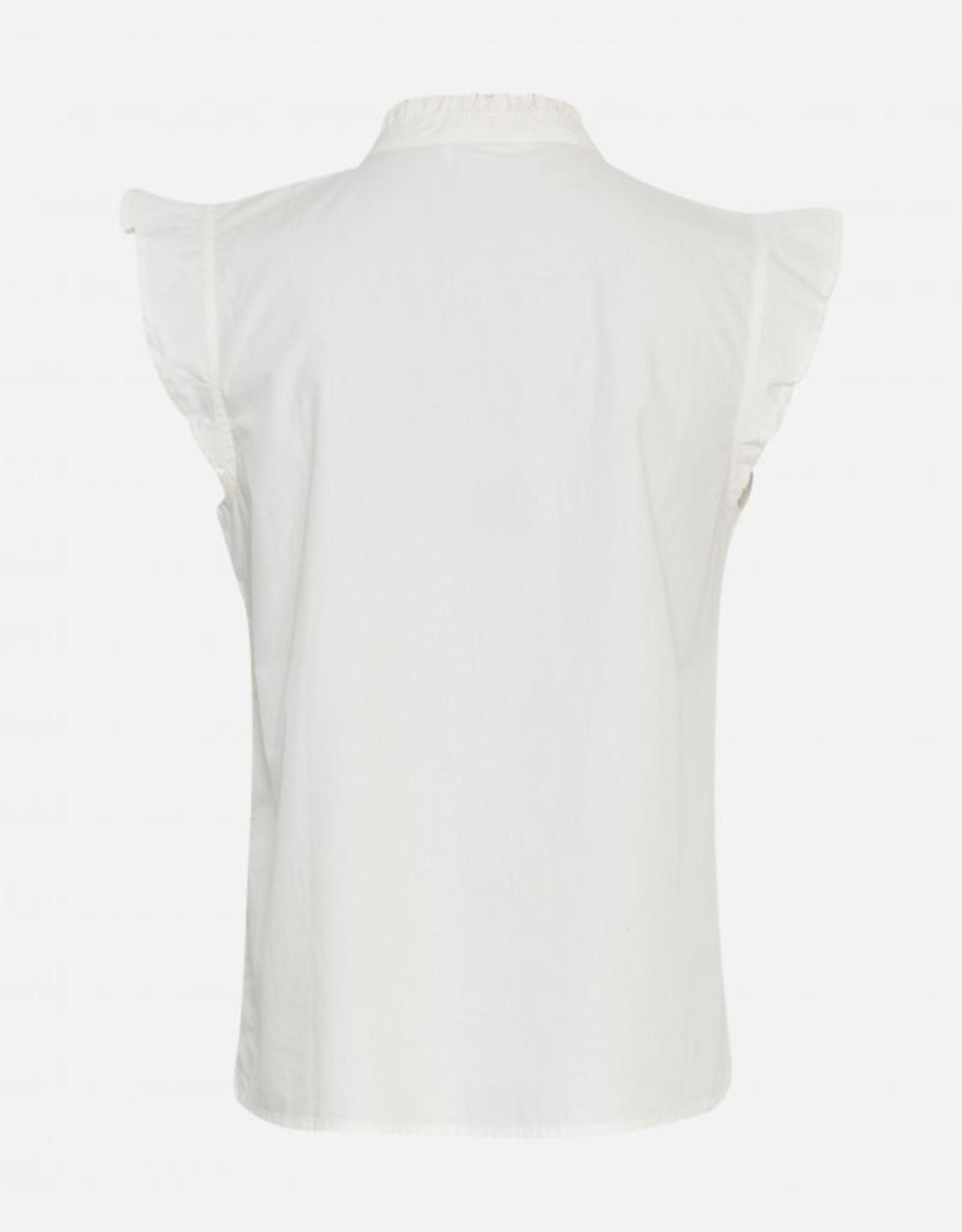 Moss Copenhagen Sirena SL Shirt Egret