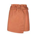 Dante 6 Leith Leather Skirt Pumpkin Latte