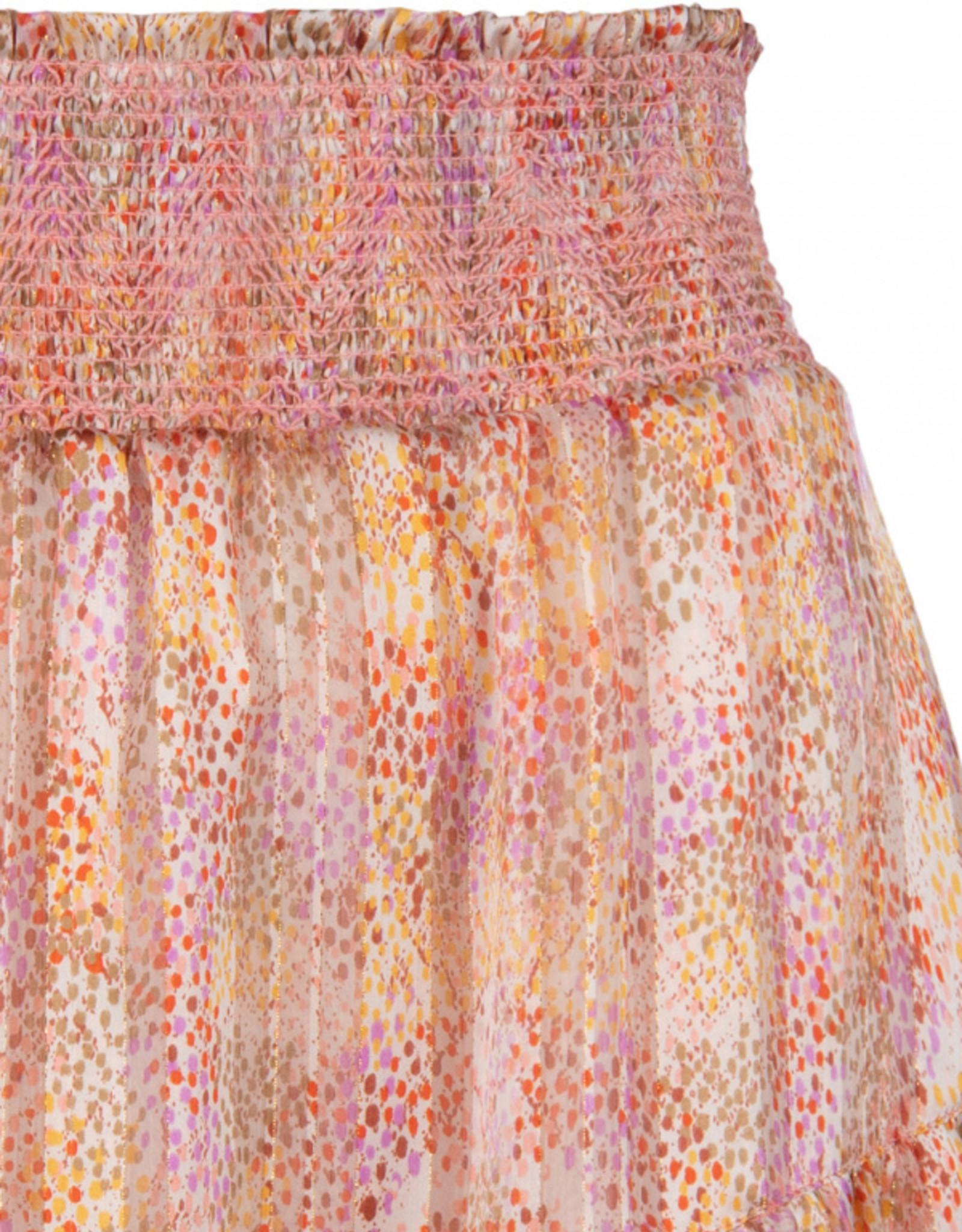 Dante 6 Wonderous Snake Print Skirt Multi