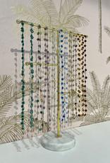 Atelier Labro Fiori Necklace Light Blue