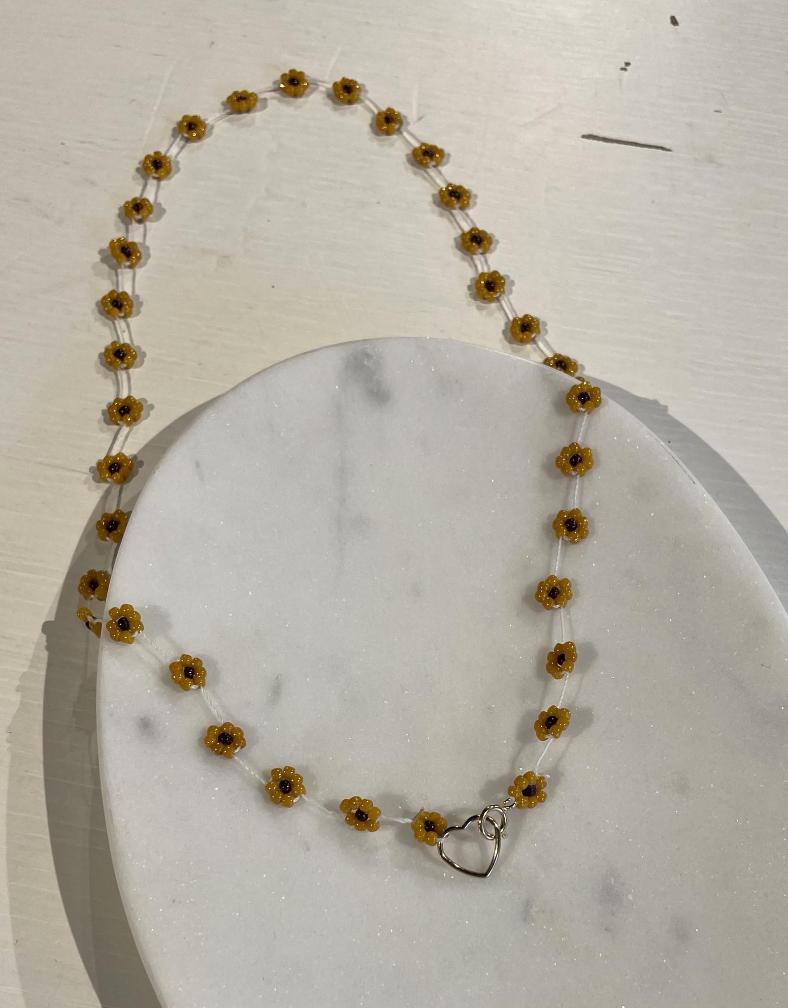 Atelier Labro Fiori Necklace Tuscan Orange