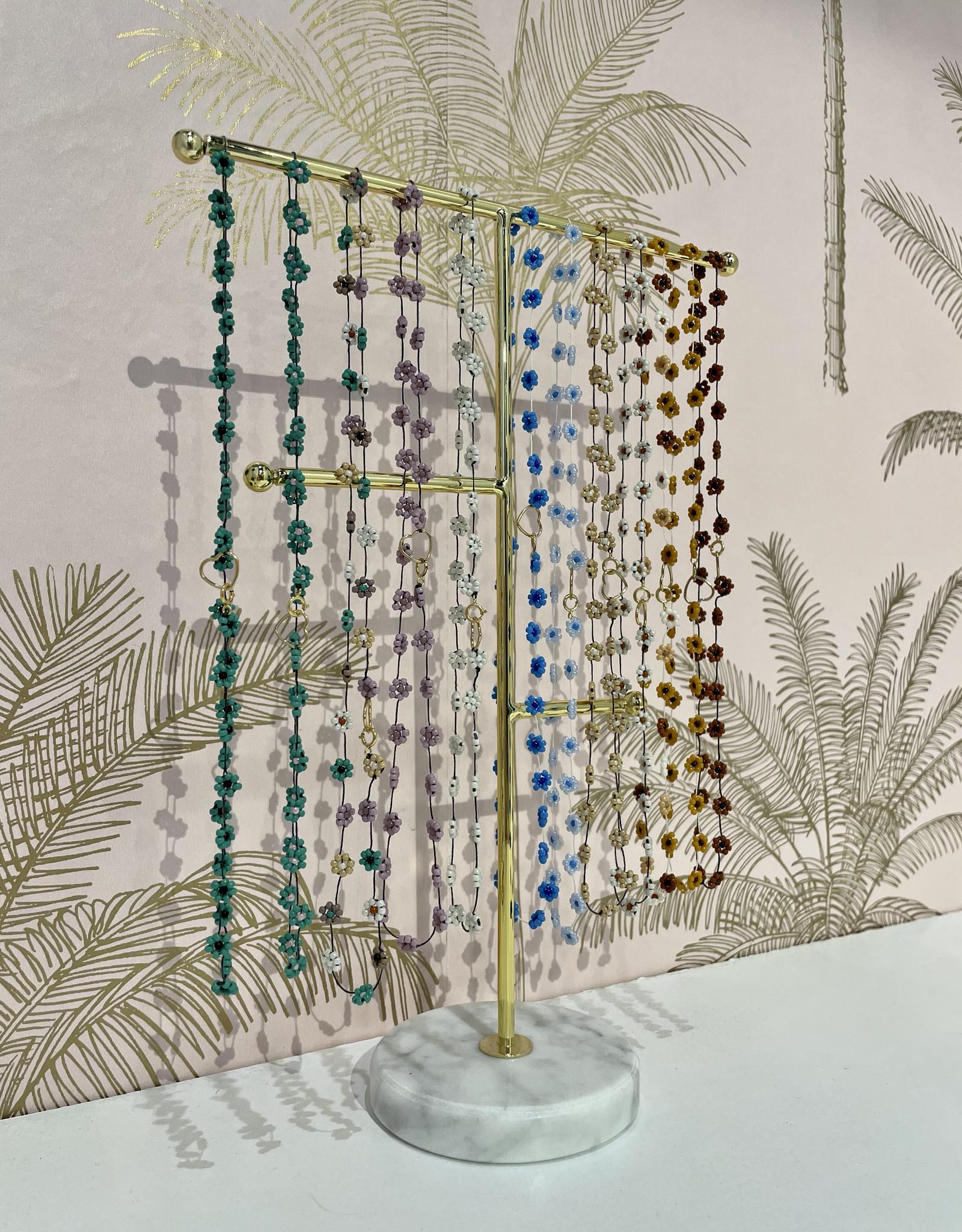 Atelier Labro Fiori Necklace Terra Misto