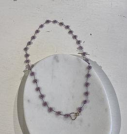 Atelier Labro Fiori Necklace Lilac