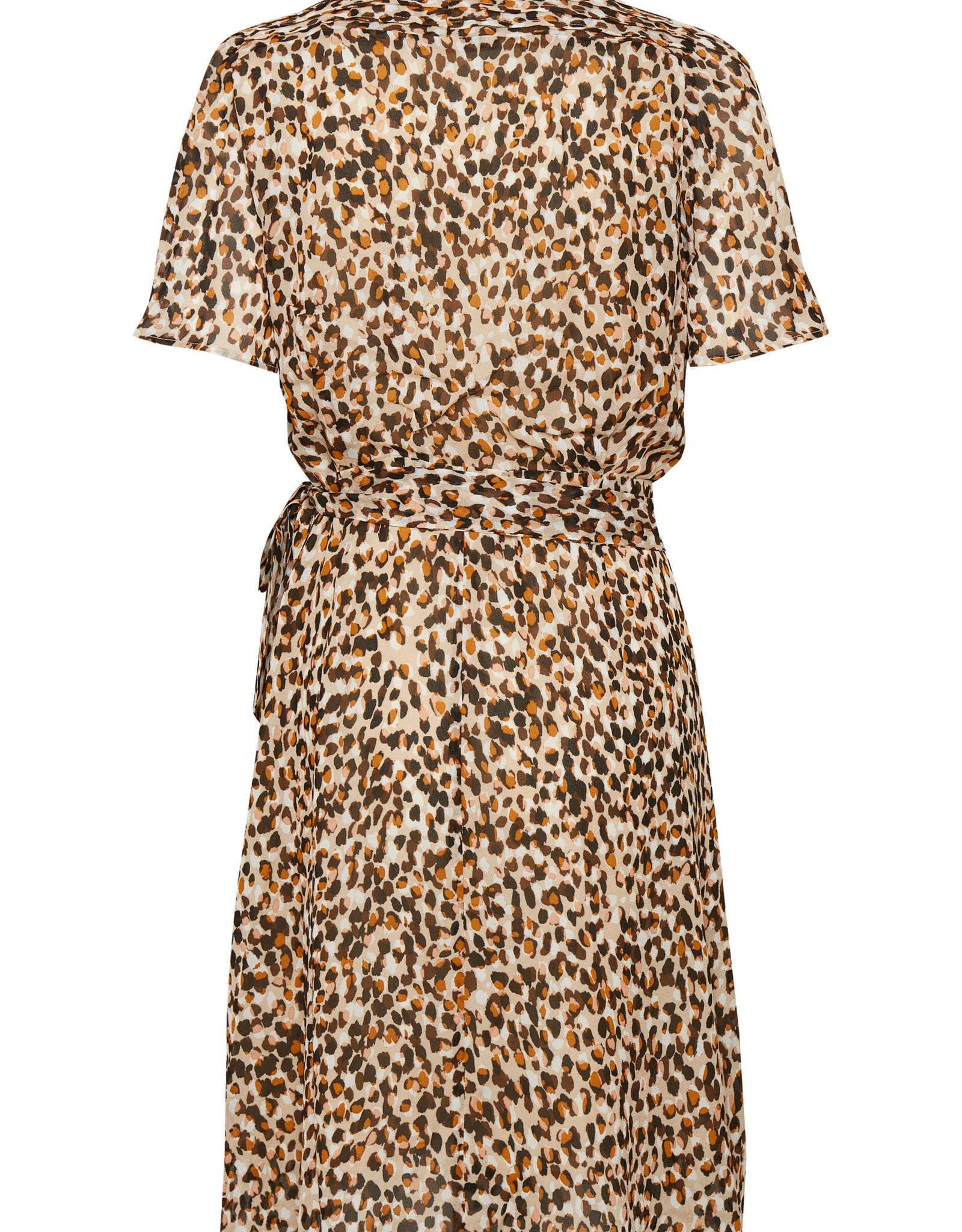 InWear Yasmeen Wrap Dress Natural Forrest Confetti