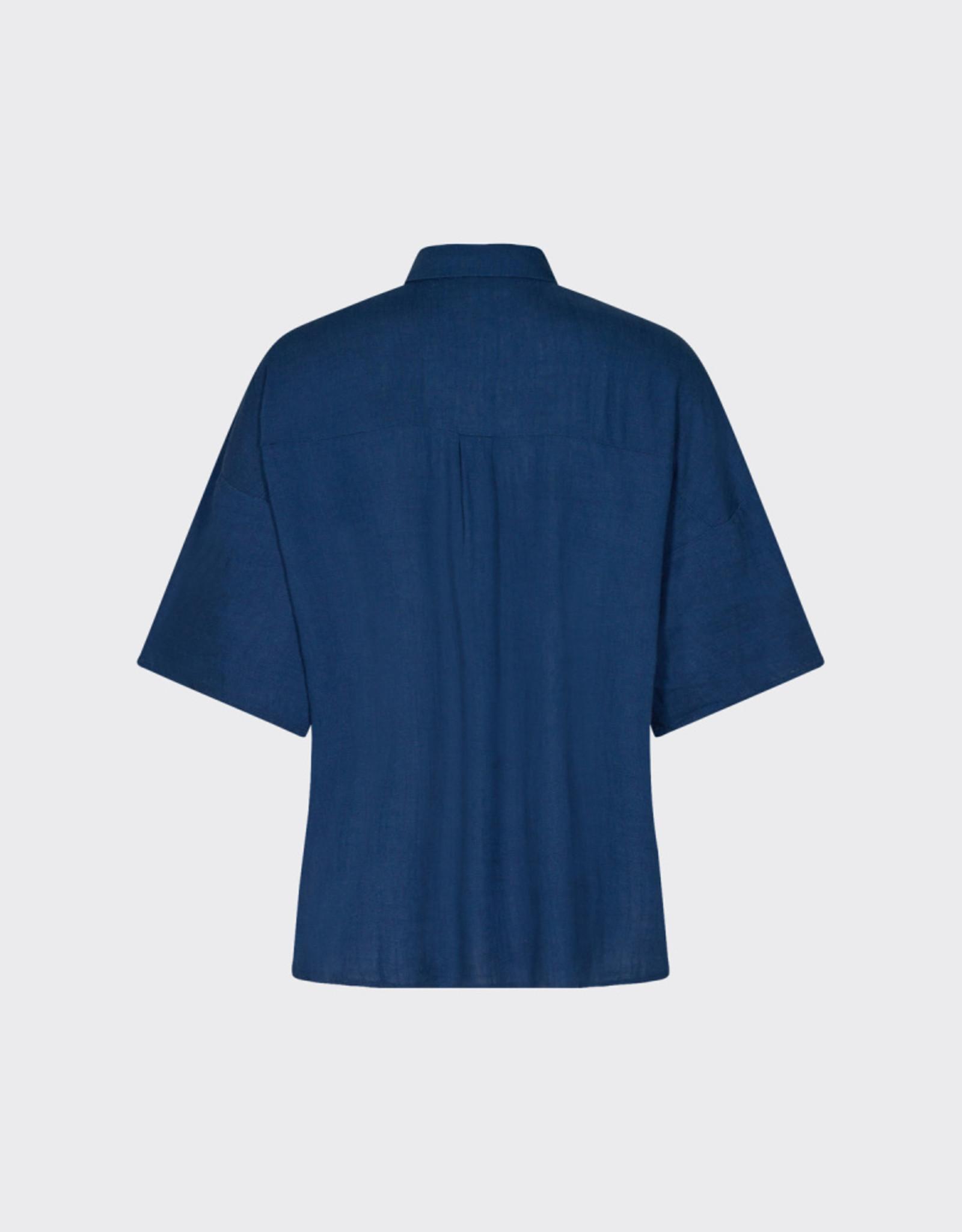 Minimum Berya Shirt Navy Peony