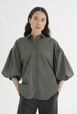 InWear Yoko Beetle Shirt Green Stri