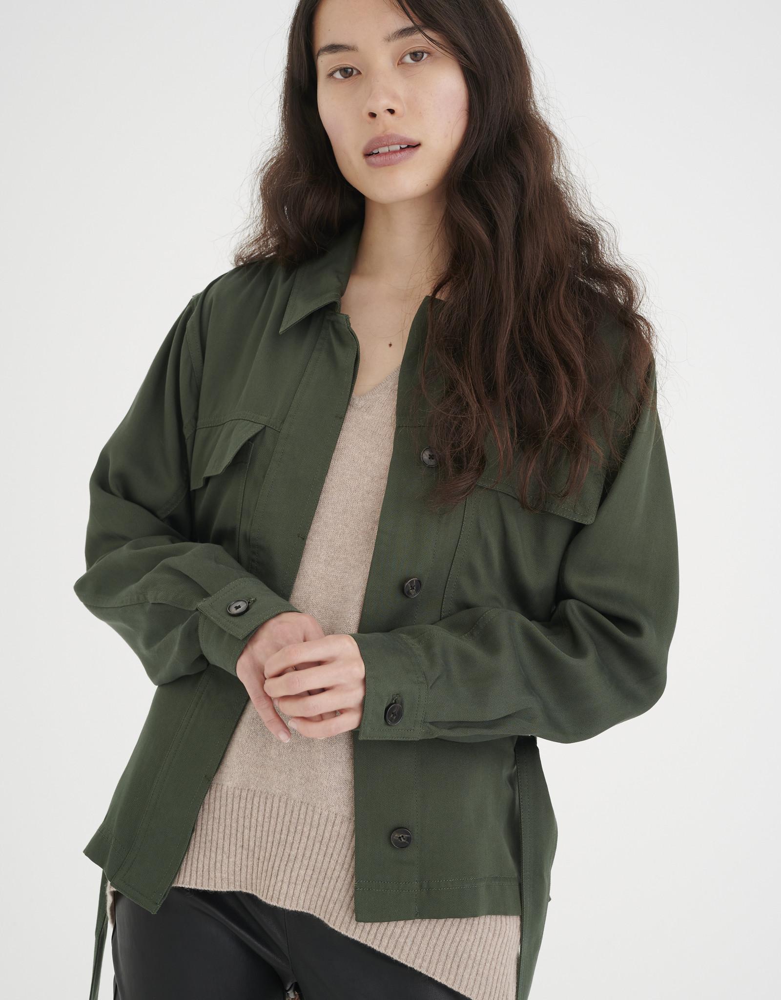 InWear IzIa Jacket Green Olive
