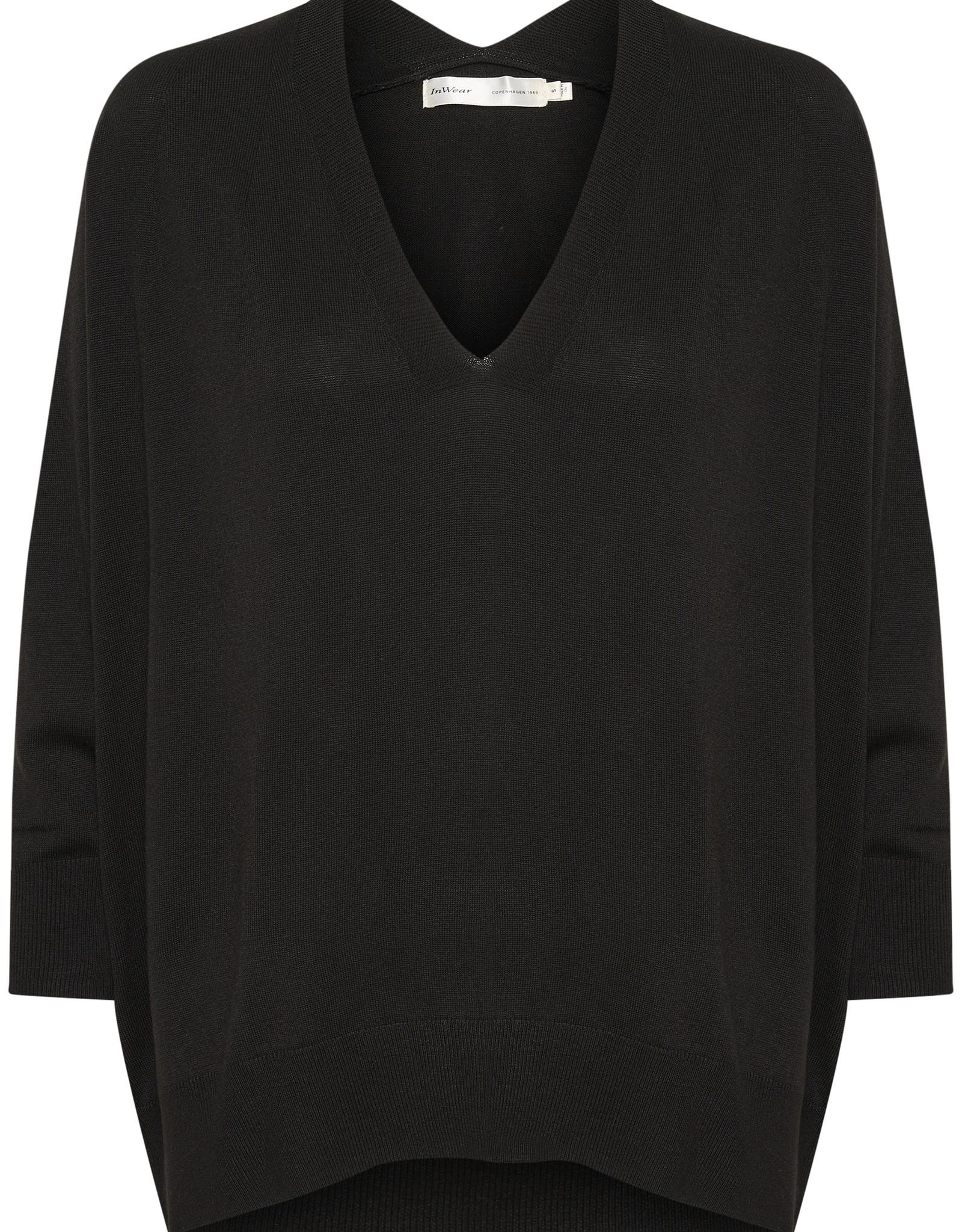 InWear Innes V-Neck Pullover Black
