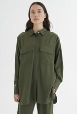 InWear Kellie Shirt Jacket Beetle Green