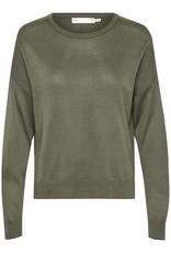 InWear Innes Slit Pullover Beetle Green