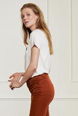 Fabienne Chapot Terry Pia T-Shirt Cream White