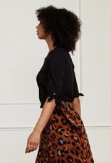 Fabienne Chapot Molly Short Sleeve Pullover Black