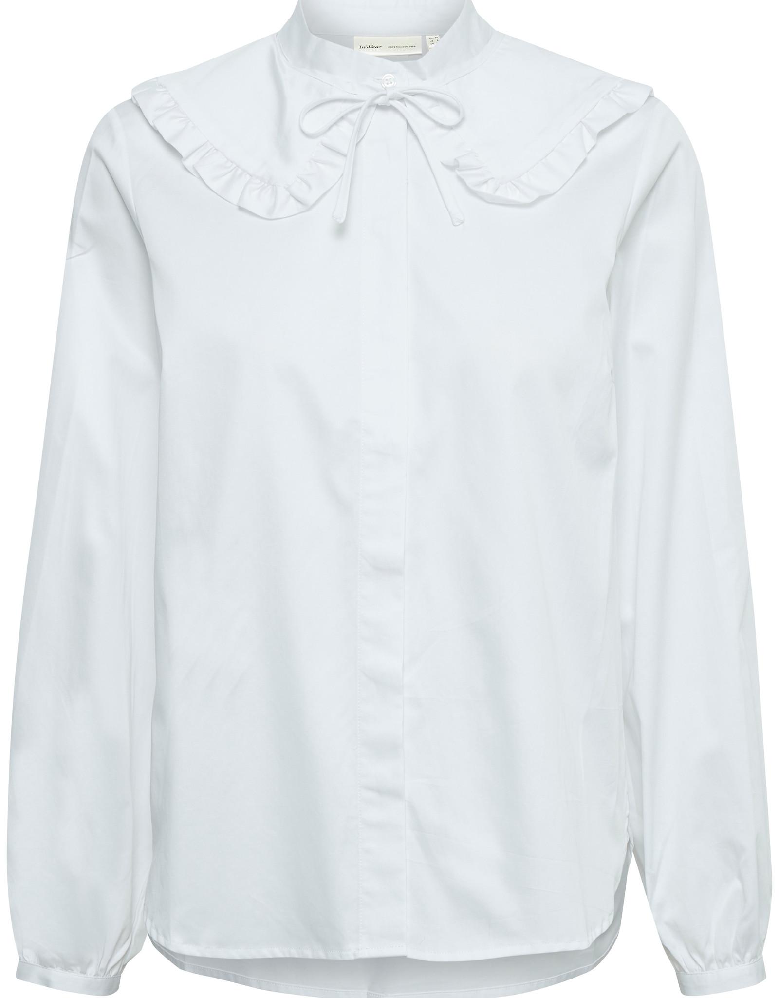 InWear Vex Collar Blouse Pure White