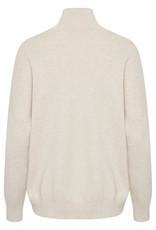 InWear Tenley Turtleneck Pullover Simply Taupe Melange