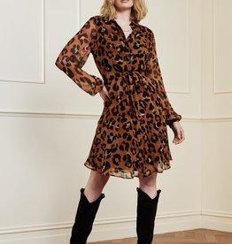 Fabienne Chapot Frida Cato Short Dress Leopatra