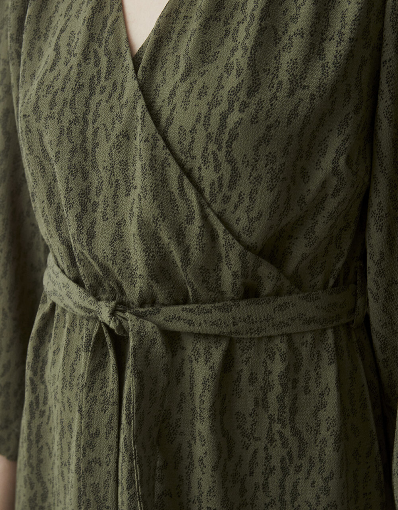 Modstrom Lois Print Dress Elmwood Dot