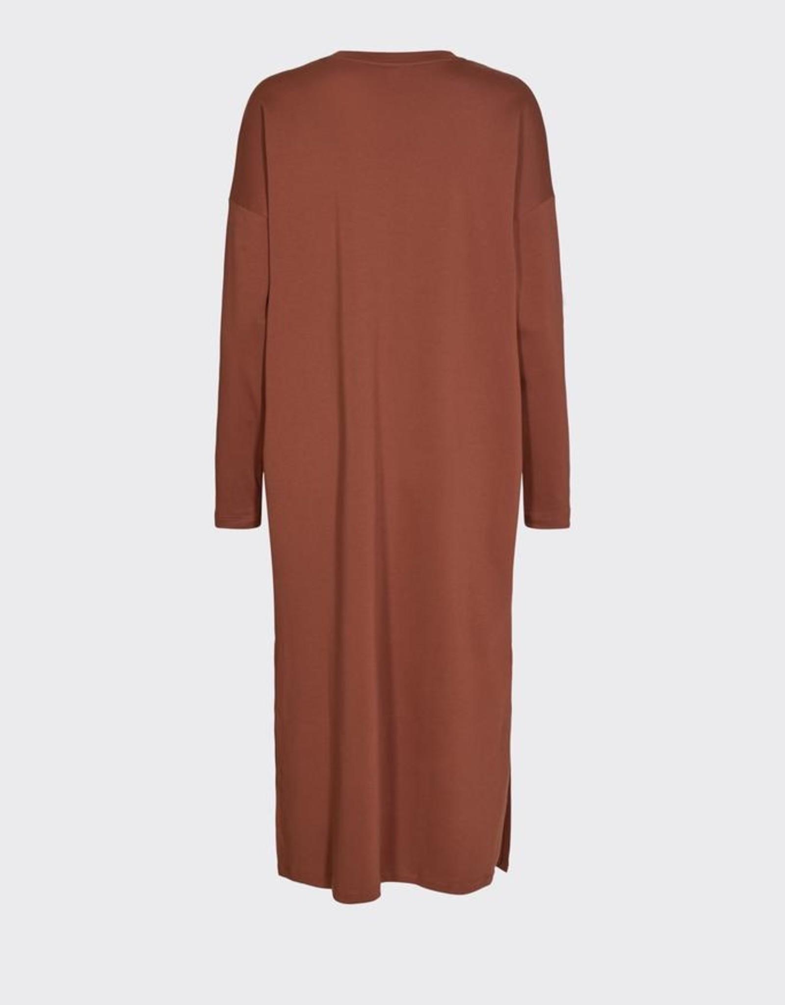 Minimum Regizze Midi Dress Smoked Paprika