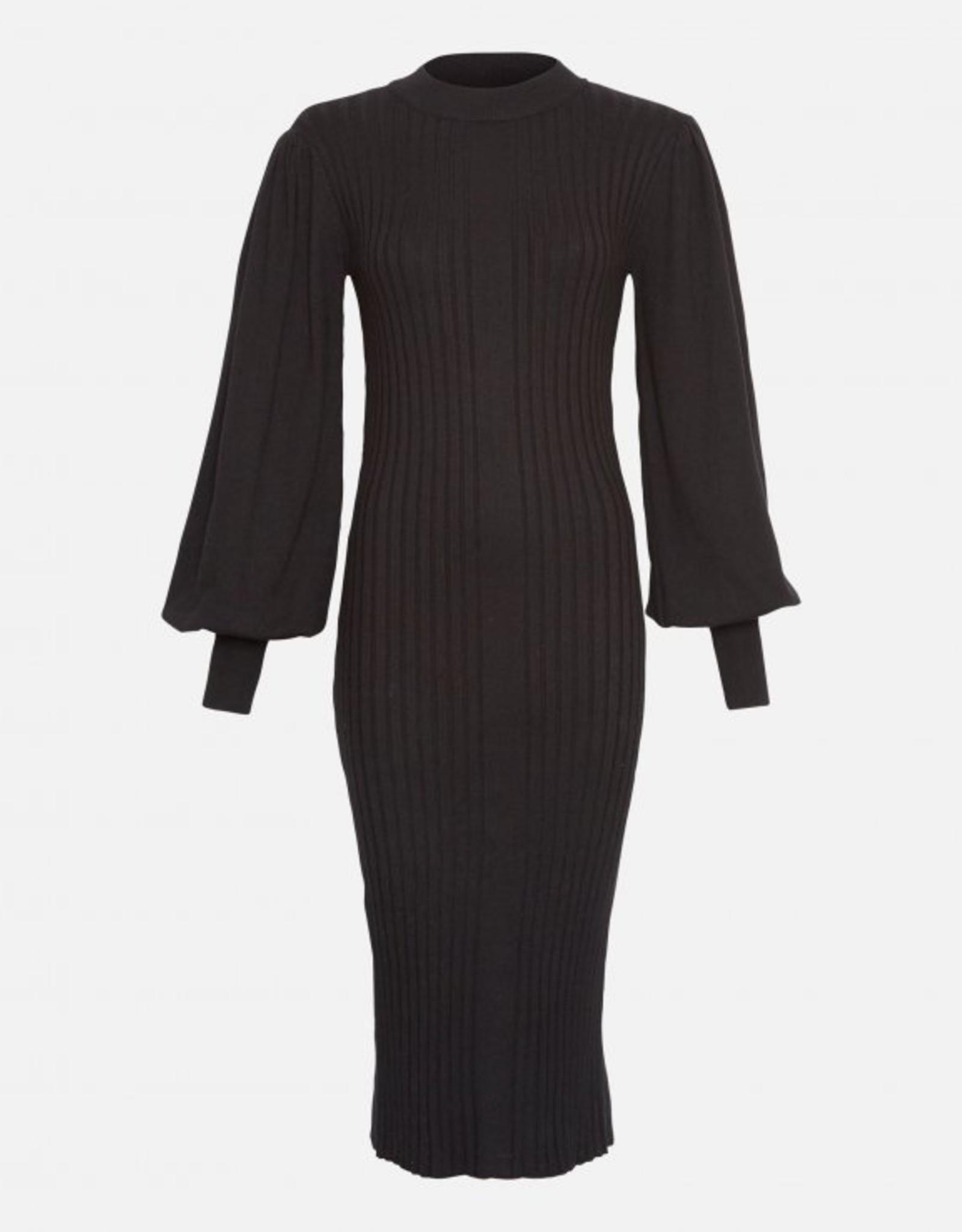 Moss Copenhagen Rachelle LS Dress Black