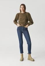 Gestuz Astrid HW Slim Jeans Denim Blue