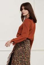 Fabienne Chapot Molly Bow Pullover Cognac