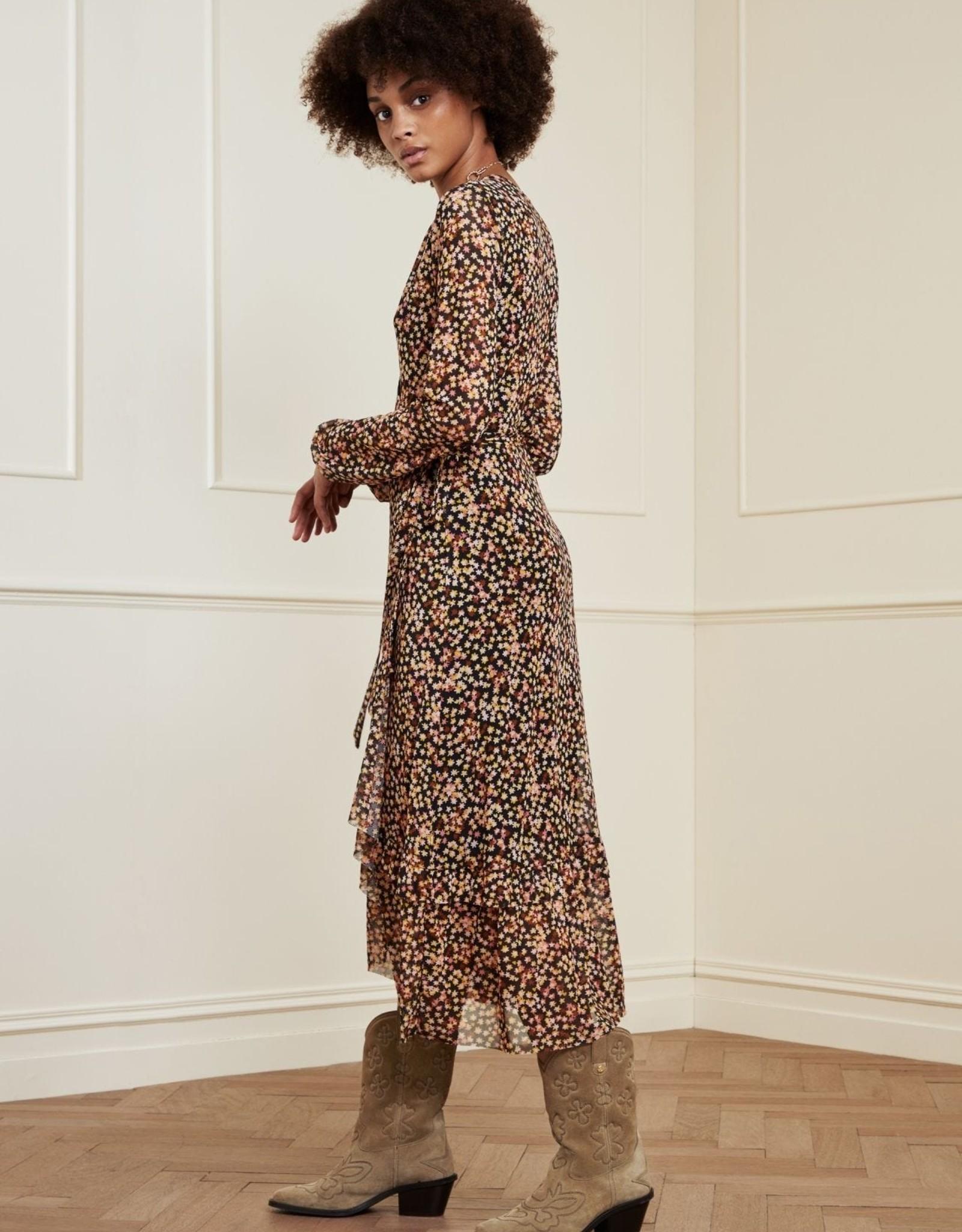 Fabienne Chapot Natasja Frill Dress Confetti