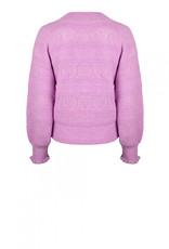 Dante 6 Kaileen Ajour Cardigan Pastel Pink